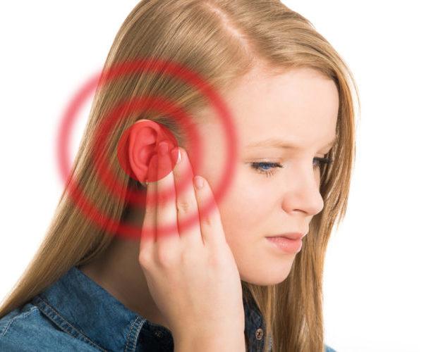 Покраснело ухо