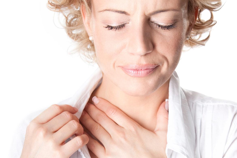 Першение горла