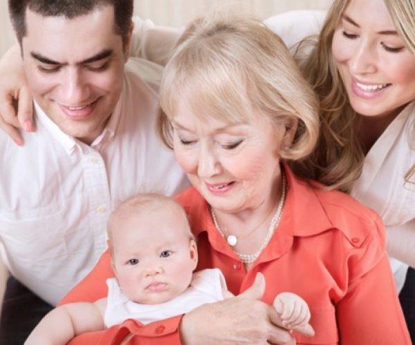 Младенец родственники